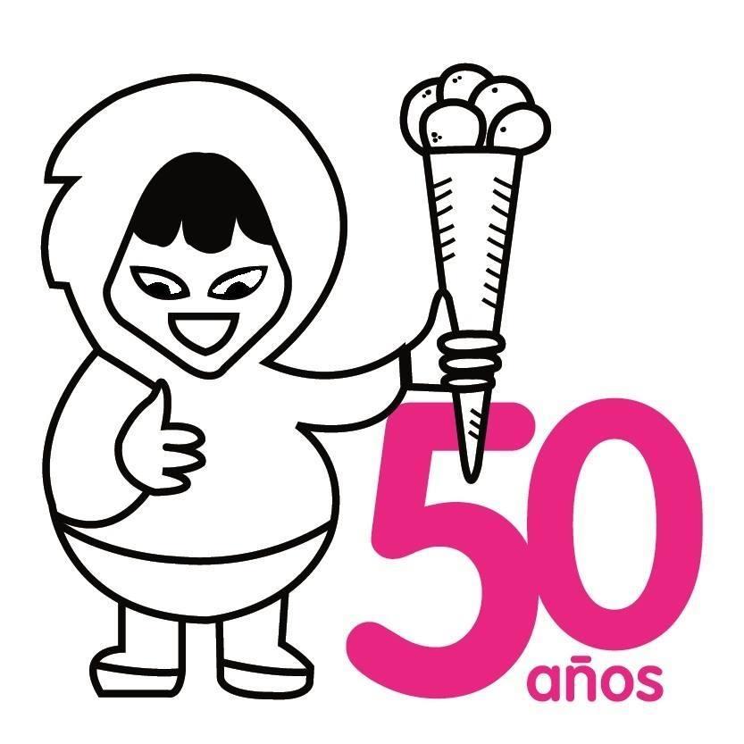 logo 50 aniv - Heladerías